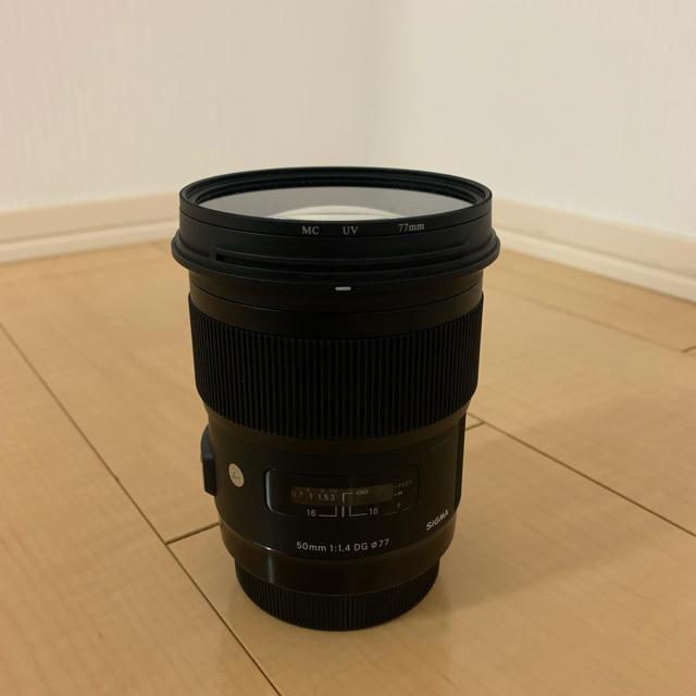 SIGMA(シグマ)のSIGMA 50mm f1.4 art canon用 スマホ/家電/カメラのカメラ(レンズ(単焦点))の商品写真