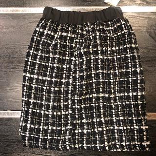 タマスクレセント(Tamath crescent)のAライン スカート タマス クレセント  送料込み タグ付き(ミニスカート)