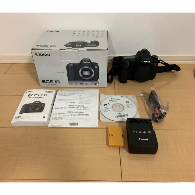 Canon(キヤノン)のなみた様 専用   Canon 6d ボディ スマホ/家電/カメラのカメラ(デジタル一眼)の商品写真