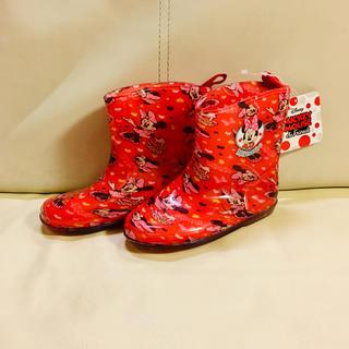 ディズニー(Disney)の新品 ミニー 長靴 17cm(長靴/レインシューズ)