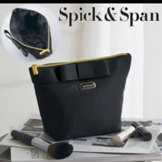 スピックアンドスパン(Spick and Span)のスピック&スパン  コスメポーチ 新品 今月末まで❗️(ポーチ)