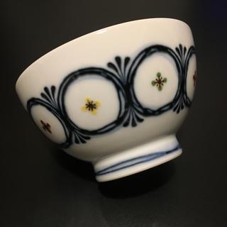 ハクサントウキ(白山陶器)の白山陶器  丸紋つなぎ  小丼  新品未使用(食器)
