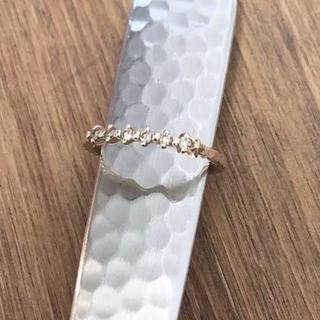 ノジェス(NOJESS)の【美品】ノジェス  ピンキーリング  K10ゴールド  ダイヤモンド(リング(指輪))