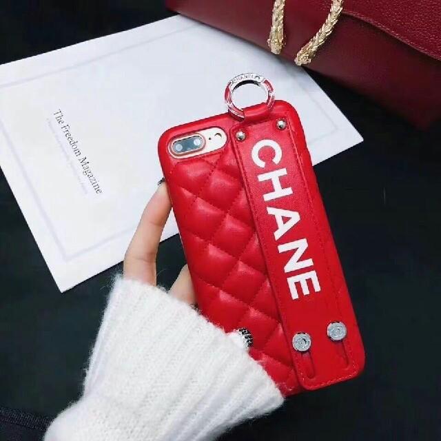 iphone7 ケース 人気 ディズニー | CHANEL - 人気新品 iphone8 ケースレッドの通販 by kiseono's shop|シャネルならラクマ