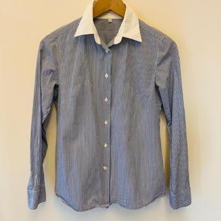 ムジルシリョウヒン(MUJI (無印良品))の無印良品 ストライプシャツ(シャツ/ブラウス(長袖/七分))