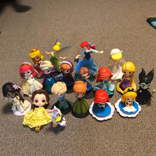 ディズニー(Disney)のディズニープリンセス フィギュア18体(フィギュア)