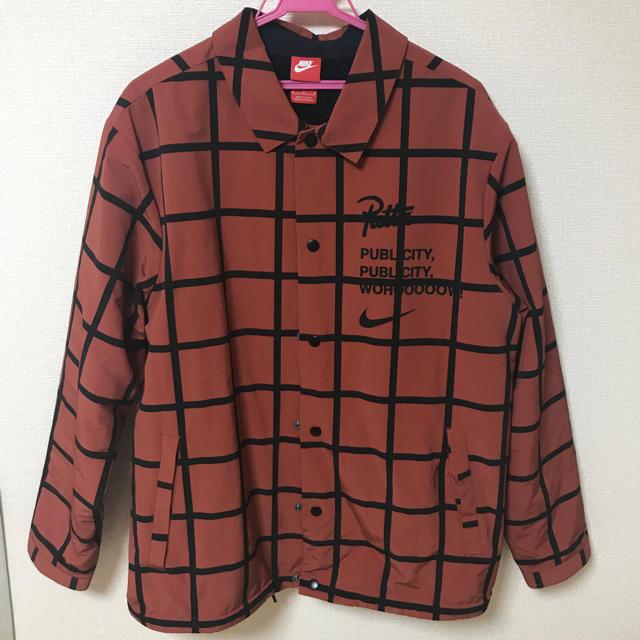 NIKE(ナイキ)のpatta nike コーチジャケット メンズのジャケット/アウター(ナイロンジャケット)の商品写真