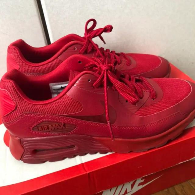 NIKE(ナイキ)のNIKE AIRMAX red レディースの靴/シューズ(スニーカー)の商品写真