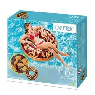 NTEX社製、ドーナッツの浮き輪(プール)