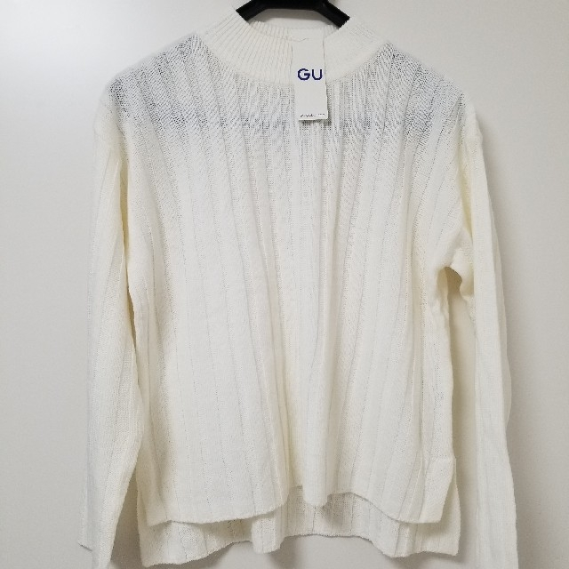 GU(ジーユー)の【未使用】ワイドリブボクシーセーター レディースのトップス(ニット/セーター)の商品写真