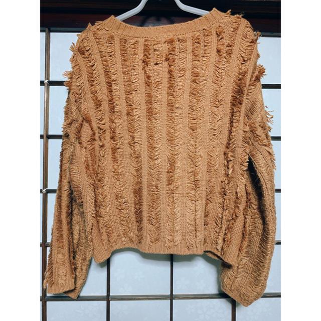 GU(ジーユー)のフリンジ セーター ニット レディースのトップス(ニット/セーター)の商品写真