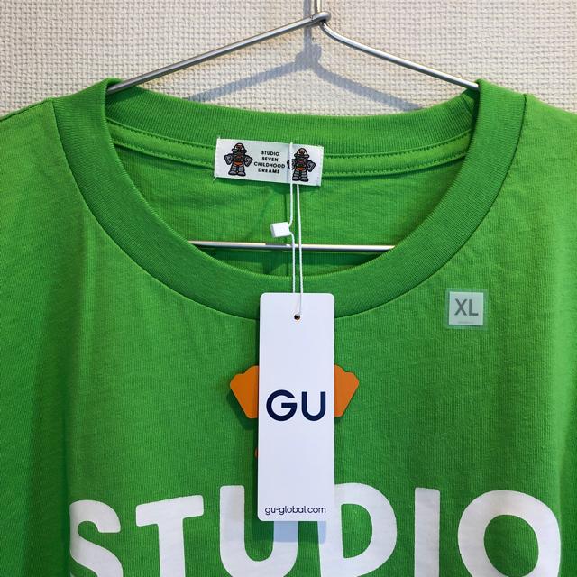 GU(ジーユー)のGU スタジオセブン Tシャツ XL メンズのトップス(Tシャツ/カットソー(半袖/袖なし))の商品写真