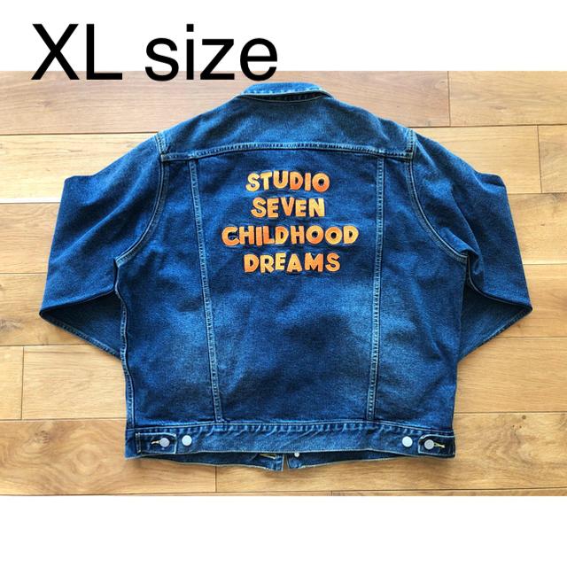 GU(ジーユー)の新品 GU NAOTO STUDIO SEVEN デニムジャケット XL 三代目 メンズのジャケット/アウター(Gジャン/デニムジャケット)の商品写真