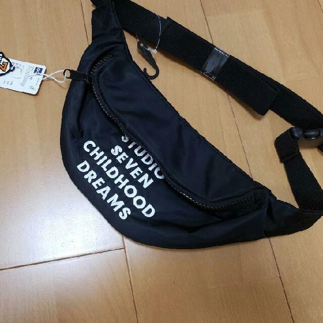 GU(ジーユー)のgu スタジオセブンコラボウエストポーチ メンズのバッグ(ウエストポーチ)の商品写真