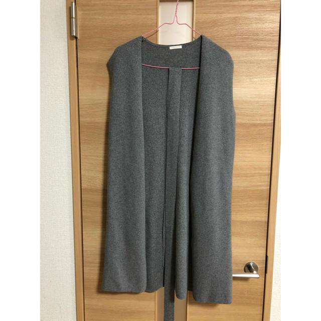 GU(ジーユー)のGU  ロングジレ 試着のみ Sサイズ レディースのトップス(ベスト/ジレ)の商品写真