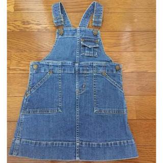 ラルフローレン(Ralph Lauren)のラルフローレン デニムジャンパースカート 90(ワンピース)