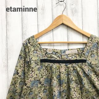 エタミンヌ(ETAMINNE)の【etaminne】花柄ブラウス エタミンヌ(シャツ/ブラウス(長袖/七分))