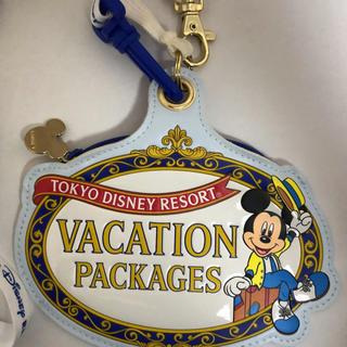 ディズニー(Disney)のバケーションパッケージ ミッキー ディズニーリゾート ディズニーシー パスケース(パスケース/IDカードホルダー)