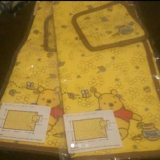 ディズニー(Disney)の2つ ランチョンマット&コースター プーさん ディズニー(テーブル用品)