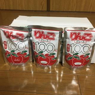 JA秋田ふるさと りんごジュース 果汁100%  15パック入り(ソフトドリンク)
