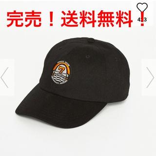 ジーユー(GU)のSTUDIO SEVEN × GU 【ローキャップ】ブラックスタジオセブン(キャップ)