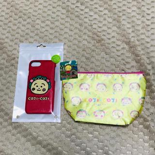 シュウエイシャ(集英社)の人気商品◆さくらももこ コジコジ iPhoneケース ポーチ セット390マート(キャラクターグッズ)