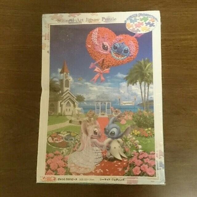 Disney(ディズニー)のスティッチ ジグソーパズル 500ピース エンタメ/ホビーのおもちゃ/ぬいぐるみ(キャラクターグッズ)の商品写真