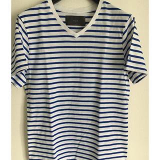 ダブルジェーケー(wjk)のボーダーティシャツ(Tシャツ(半袖/袖なし))