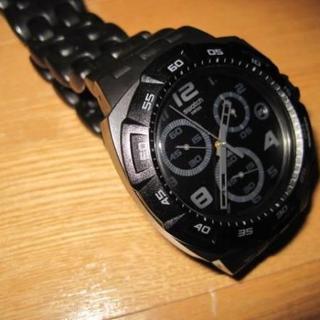 スウォッチ(swatch)のスウォッチ SWATCH 腕時計 クロノプラスチック ブラック(腕時計(アナログ))