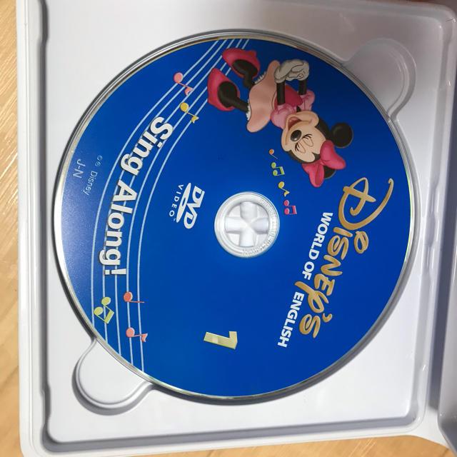 Disney(ディズニー)の2018年購入‼︎最新版‼︎ディズニー英語システム シングアロング エンタメ/ホビーのDVD/ブルーレイ(キッズ/ファミリー)の商品写真