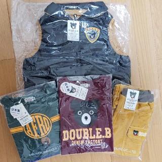 ダブルビー(DOUBLE.B)の新品 ミキハウス ダブルB  福袋 110(Tシャツ/カットソー)