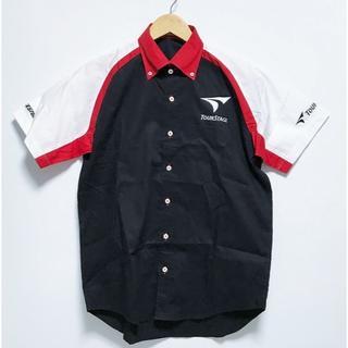 ツアーステージ(TOURSTAGE)の新古品 ツアーステージ 半袖BDシャツ Sサイズ フルデコ刺繍(ウエア)