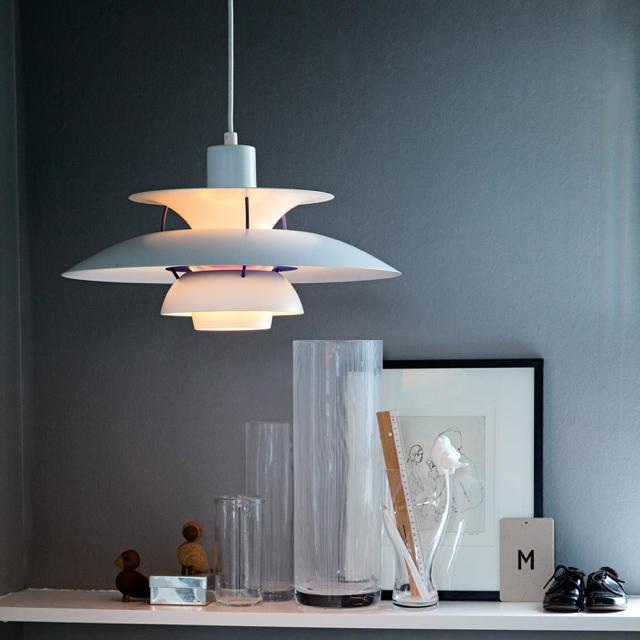 ACTUS(アクタス)のルイスポールセン louis poulsen PH5 クラシックホワイト インテリア/住まい/日用品のライト/照明/LED(天井照明)の商品写真