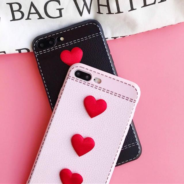 burberry iphonex ケース 新作 | ハート 立体的 iPhoneケース ペアルック インスタ SNS ガーリー 人気の通販 by made_world's shop|ラクマ