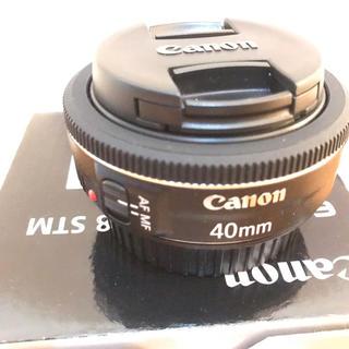 キヤノン(Canon)のラクマ限定特価‼️Canon  EF40mm f/2.8 STM(レンズ(単焦点))