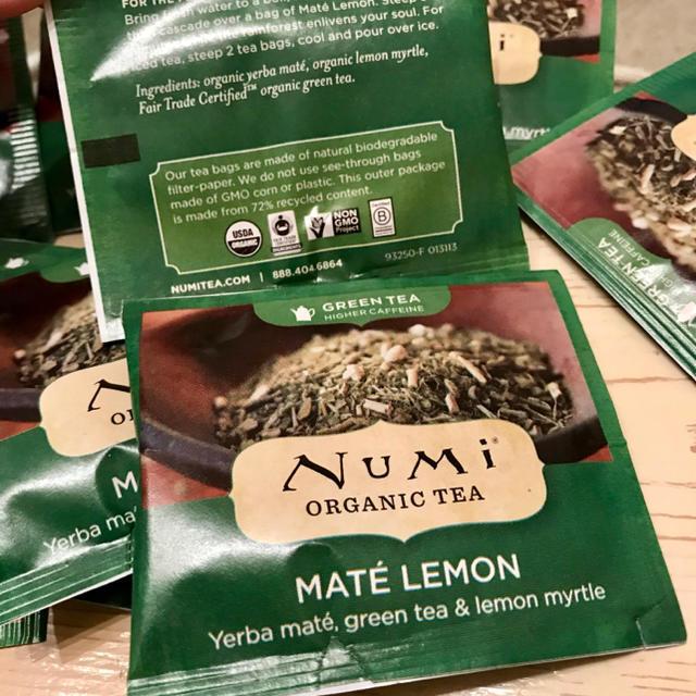 NuMi オーガニック マテ茶 レモン 食品/飲料/酒の飲料(茶)の商品写真