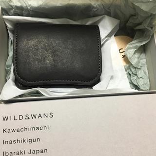 ウエアハウス(WAREHOUSE)のワイルドスワンズ  パーム ホースレザー 限定モデル(折り財布)