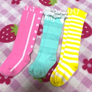 ロニィ(RONI)のニーハイ S 13〜15cm(靴下/タイツ)