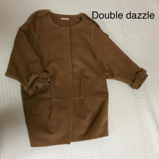 ダブルダージル(Double dazzle)のコクーンコート(ロングコート)