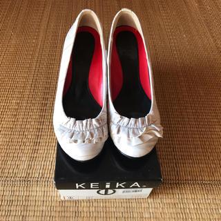 ケイカ(KEiKA)のKEiKA パンプス 牛革(ハイヒール/パンプス)