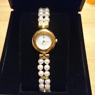 ミキモト(MIKIMOTO)のミキモト パール 腕時計(腕時計)