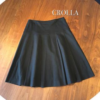 クローラ ゆるふわプリーツスカート