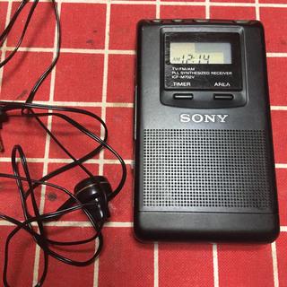 ソニー(SONY)のSONY ポケットラジオ (ラジオ)