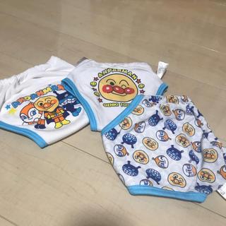 バンダイ(BANDAI)のアンパンマン 薄手 トレーニングパンツ 3枚セット(トレーニングパンツ)