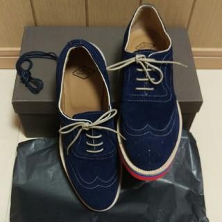 ナンバートゥエンティワン(No. 21)の❮新品❗お値下げします❗❯No.21 スエードオックスフォード型スニーカー(ローファー/革靴)