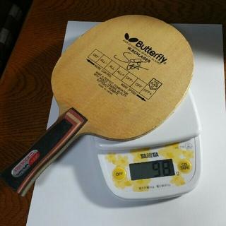 バタフライ(BUTTERFLY)のシュラガー アナトミック 卓球ラケット オマケ ラケットケース付き(卓球)