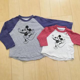 マーキーズ(MARKEY'S)の【期間限定出品】マーキーズ♡兄妹お揃いミッキーロンT(Tシャツ)