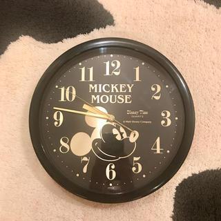 ディズニー(Disney)のミッキーマウス 壁掛け時計 ディズニー disney 美品(掛時計/柱時計)