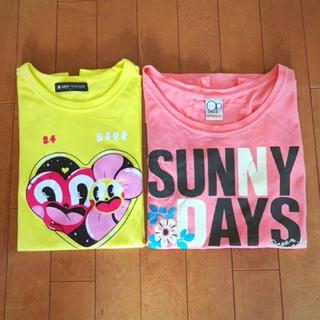 オーシャンパシフィック(OCEAN PACIFIC)のTシャツ2枚セット☆24時間テレビSサイズ、オーシャンパシフィックMサイズの2点(Tシャツ(半袖/袖なし))