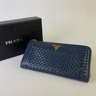 3114bd28fe3a 2ページ目 - プラダ ネイビー 財布(レディース)の通販 200点以上 | PRADA ...